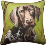 Baxter the German Shorthair Throw Pillow