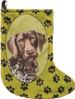 Baxter the German Shorthair Christmas Stocking