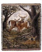 Hidden Eyes Tapestry Throw