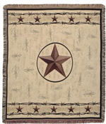 NEW Texas Star Tapestry Throw