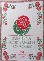 SALE Tournament of Roses Ohio State Champions Throw Blanket