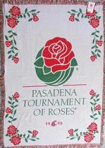 SALE Tournament of Roses Washington Cougars Throw Blanket