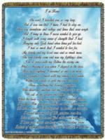 NEW Exclusive I'm Home Poem Tapestry Throw