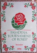 SALE Tournament of Roses Northwestern Throw Blanket